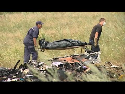 Malaysian Airlines Flight 17 Shot Down: Drama at Ukraine Pla