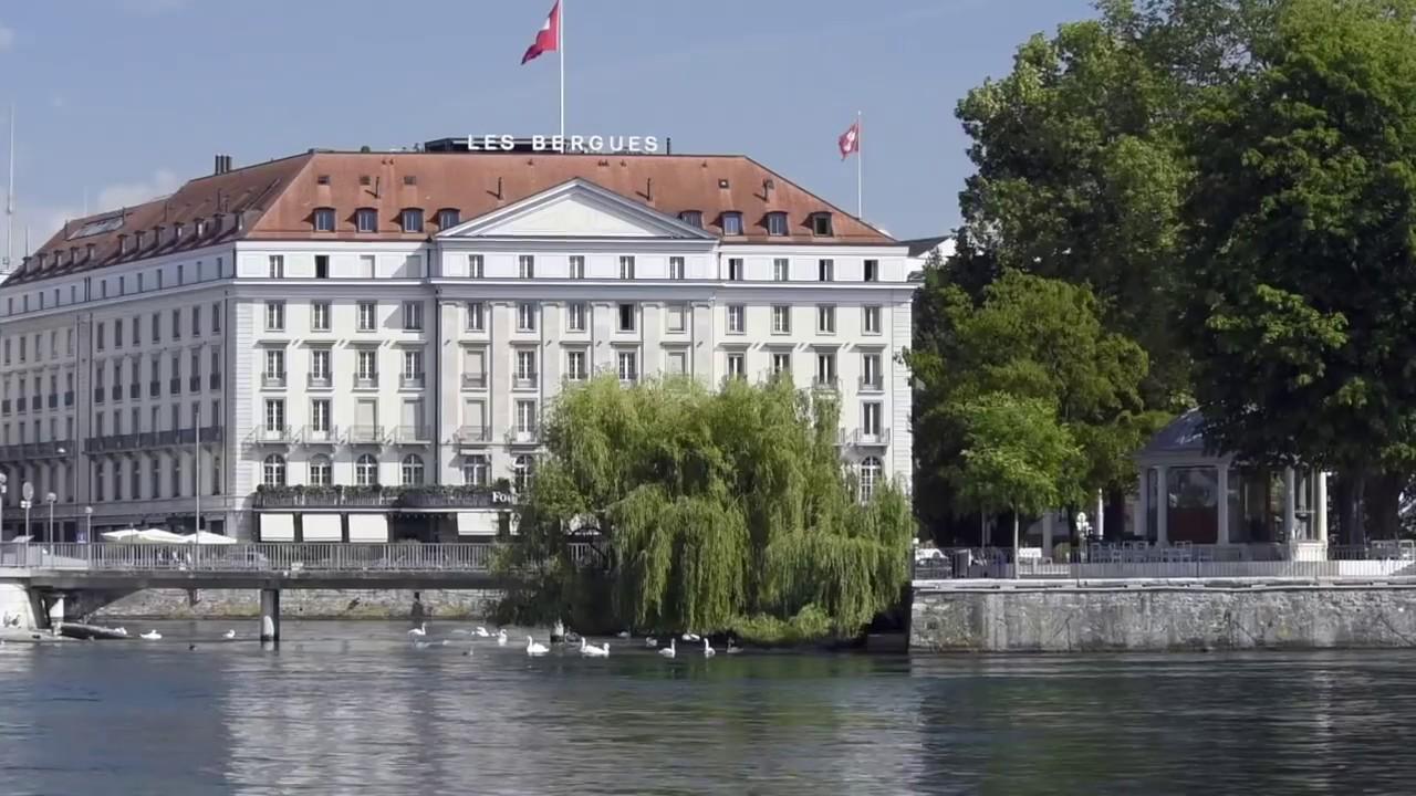 Landmark Hotel in the Heart of Geneva - Four Seasons Hotel des Bergues Geneva