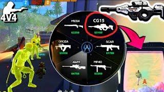 CG15 in Clash Squad😍😍//Clash Squad Pro Tips and Tricks🔥🔥