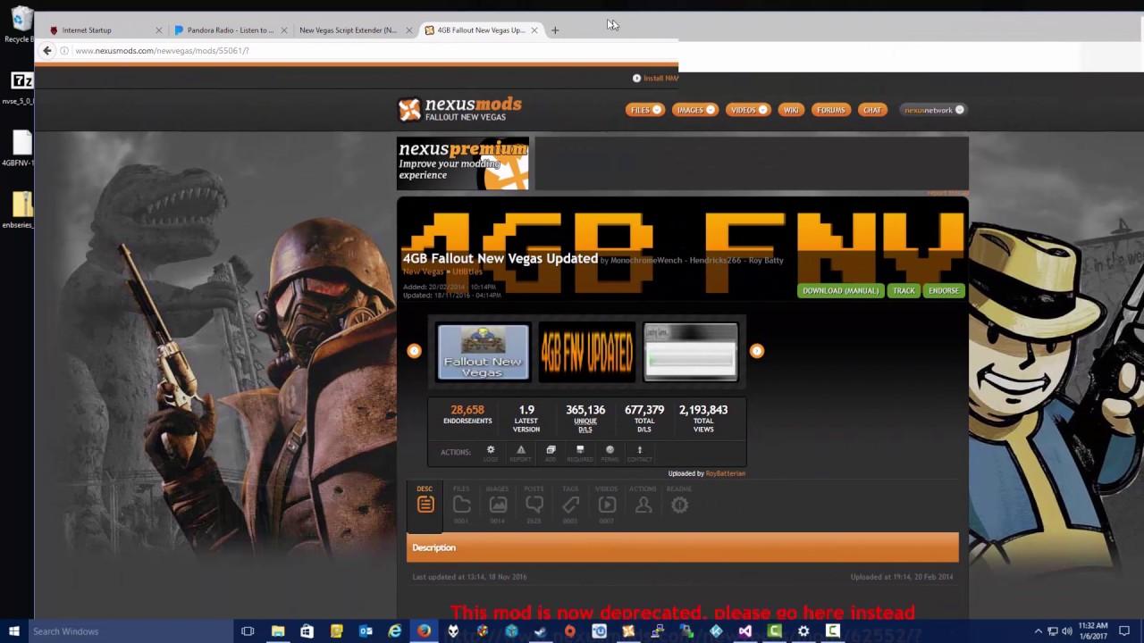 4gb patch new vegas install