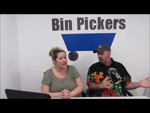 Bin Pickers- Biz or Oxi Clean? Which whitens better? And Ebay Q&A