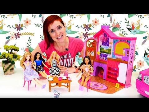 Маша Капуки с куклами Барби - все серии для девочек.