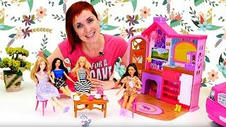 Маша Капуки з ляльками Барбі - всі серії для дівчаток.