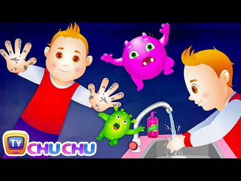 Thumbnail: Wash Your Hands Song for Kids | Good Habits Nursery Rhymes For Children | ChuChu TV