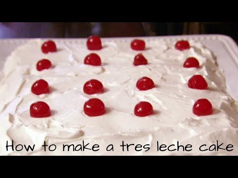 HOW TO MAKE A TRES LECHES CAKE (3 MILK CAKE)  PIONEER WOMEN TRES LECHES CAKE   HOMEMADE CAKE