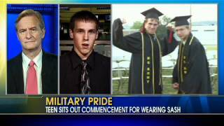 Two Students Yanked Out of Line at Graduation For Wearing Military Sashes