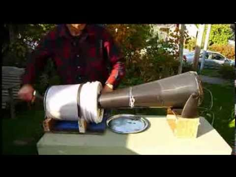 Wild Rice processing parching and hulling with homemade equipment
