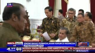 Jokowi Bahas Masalah Hukum Indonesia Bersama 25 Pakar