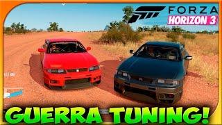 GUERRA TUNING!! | NISSAN GT-R 33!!!! | FORZA HORIZON 3 | c/Braxxter