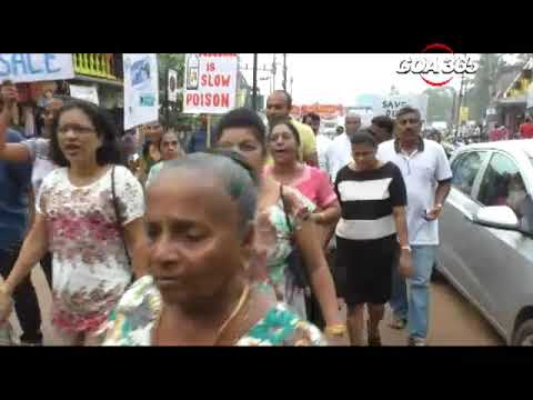 Calangute parish rally for clean tourism on World Tourism Day