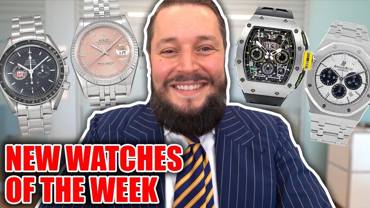 Watches of the Week: Tudor Pepsi, AP Royal Oak & Richard Mille Discontinued Model