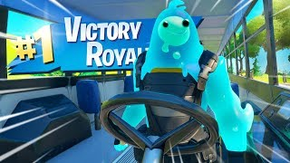 Fortnite, But Staying In The Bus All Game..