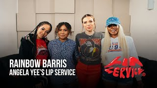 Angela Yee's Lip Service Ft. Rainbow Barris