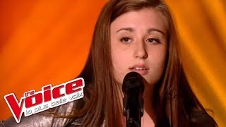 Bill Withers – Ain't No Sunshine | Caroline Savoie | The Voice France 2014 | Blind Audition