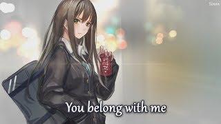 Nightcore - You Belong With Me - (Lyrics)