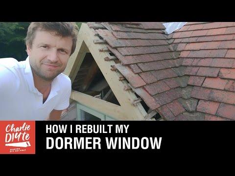 Rebuilding A Dormer Window