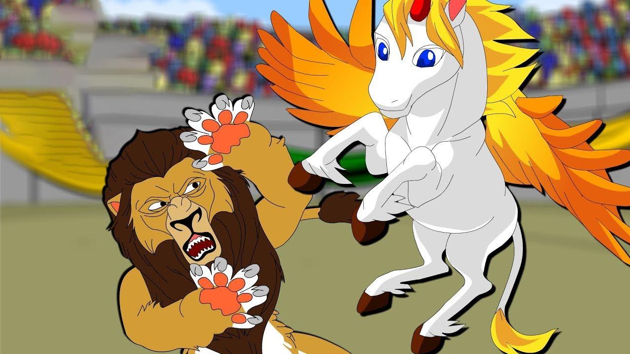 The Lion and the Unicorn | Fun Nursery Rhyme