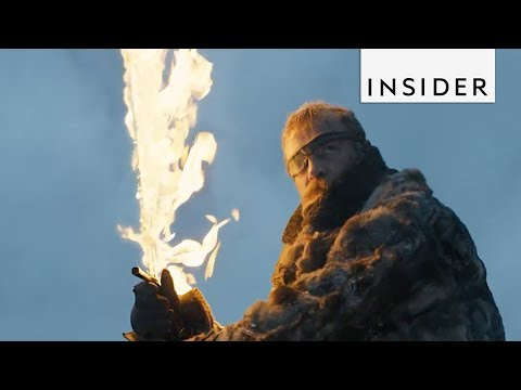 Game Of Thrones Combines CGI With Real Effects