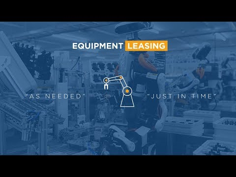 Benefits of Equipment Leasing - Trinity Capital Investment