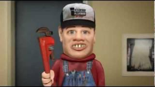Le plombier - Têtes à claques