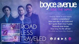 Boyce Avenue Ride The Wave Lyric Video On Spotify & Itunes