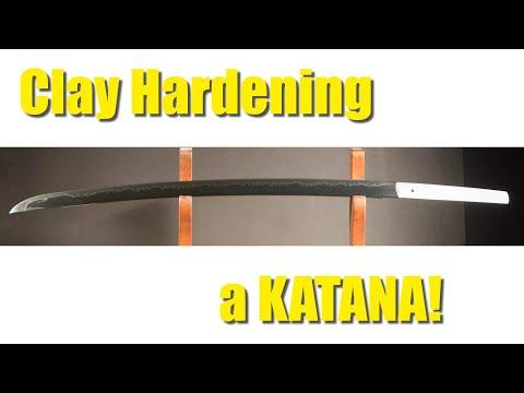 Katana - How These AMAZING Swords Are Clay Hardened!