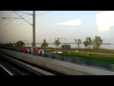 Fyra over Hollands Diep to Rotterdam