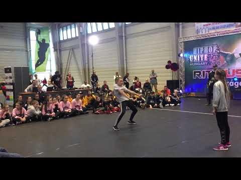 Cosma Camelia Semifinala Solo Battle All Styles-Hip Hop Unite Hungary Budapest