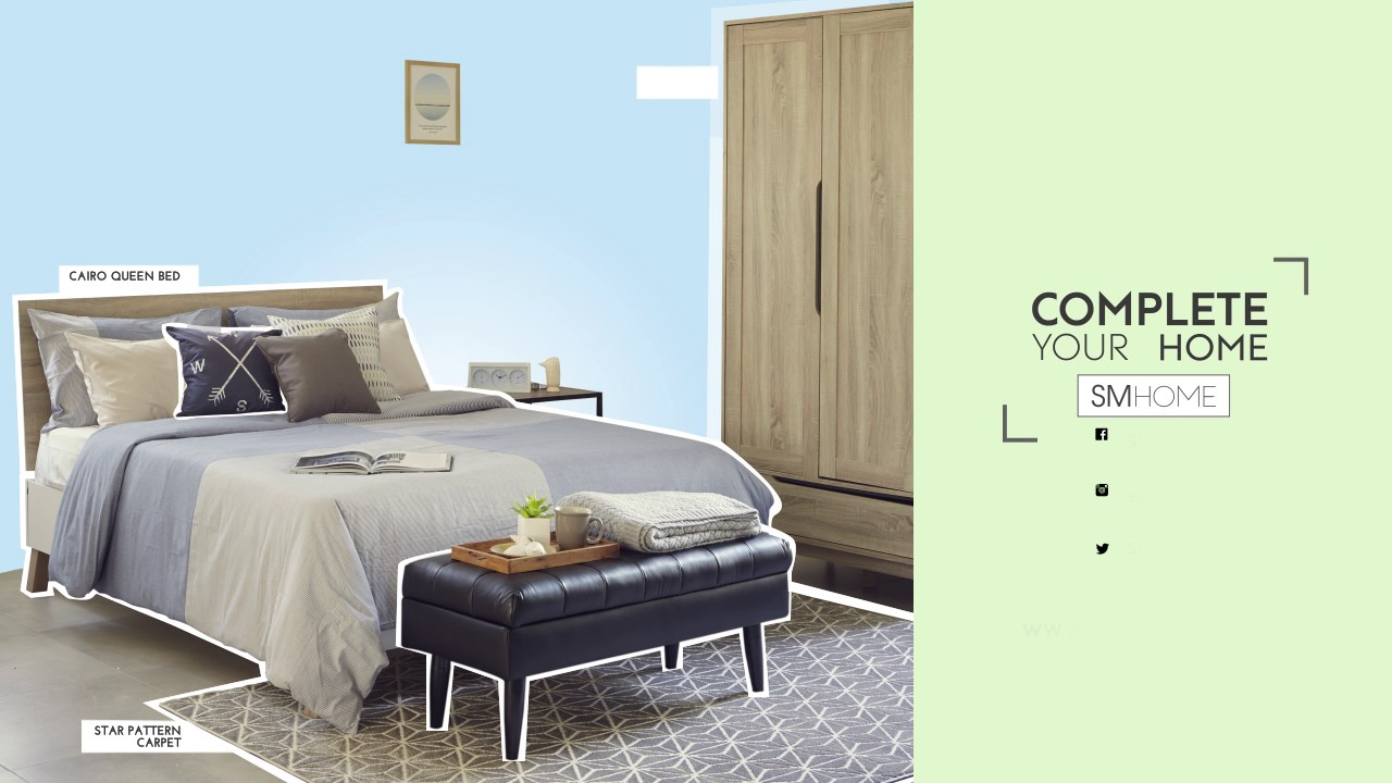 Complete Your Home With SM Home: Bedroom