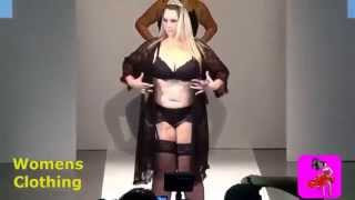 Vislumbre - Fashion Weekend Plus Size Inverno 2014-2015 Sexy Lingerie Runway Show