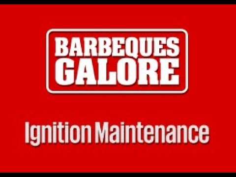 Barbeque Ignition Maintenance