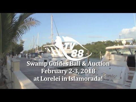 Promo for the Swamp Guides Ball February 2-3, 2018 at Lorelei in Islamorada, Florida Keys