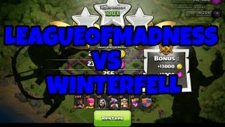 [CLASH OF CLANS FR] LeagueOfMadness Vs. Winterfell