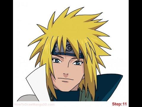Comment Dessiner Minato Dans Naruto Youtube