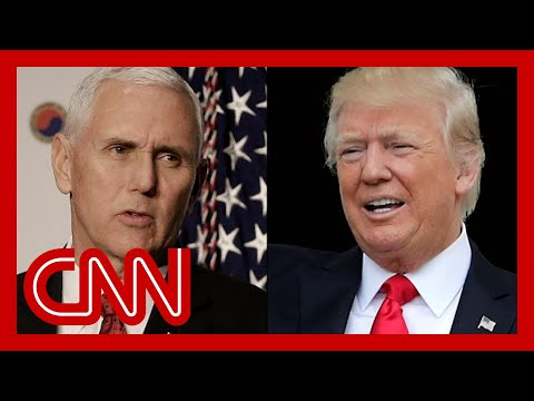 'If Pence had the courage ...': Hear what Trump said on tape about the election