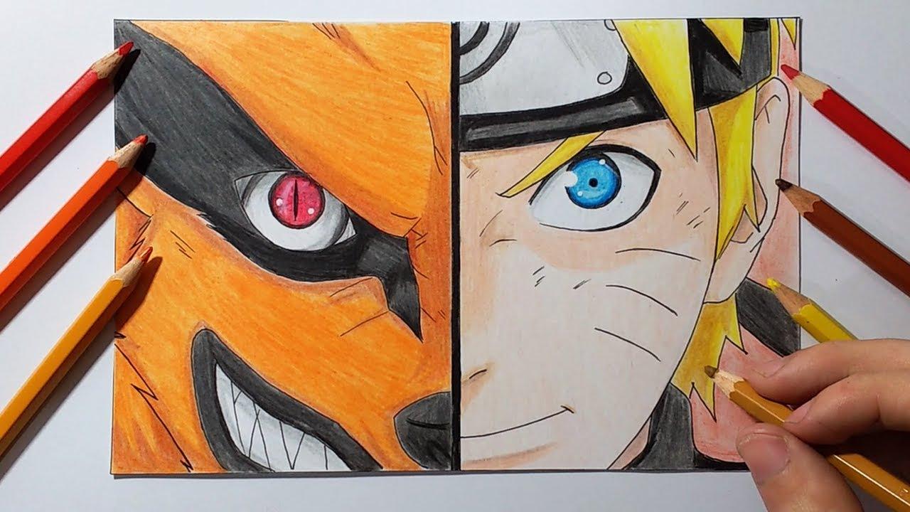 Como Dibujar A Naruto Uzumaki