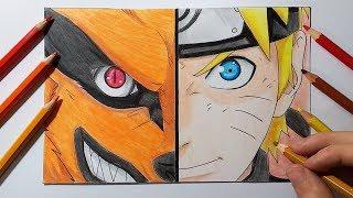 Como dibujar a Naruto Uzumaki | How to draw Naruto