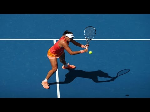 Anett Kontaveit v Garbine Muguruza highlights (1R) | Australian Open 2016