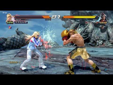 Tekken 7 - Blue Link (Lili) Vs Oozaru (Steve Fox)