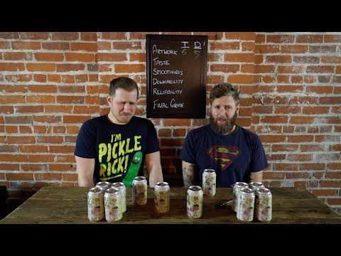 Beer Me Episode 106 - Fuggles & Warlock Strawberry Wit Review