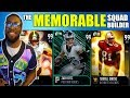 THE MEMORABLE SQUAD BUILDER! PLAYERS WHO I WILL REMEMBER FOREVER! Madden 19 Ultimate Team