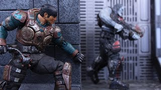 Gamestop Exclusive New in Box Details about  /Gears 5 Marcus Fenix Vintage Armor Figure
