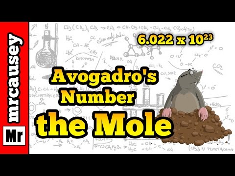 Avogadro's Number, the Mole and How to Use the Mole - Mr. Causey's Chemistry