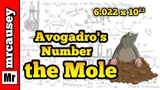 Avogadro's Number, the Mole and How to Use the Mole