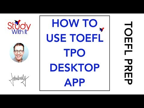 How to use TPO to Prepare for the TOEFL iBT - Study With It