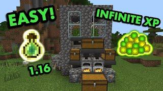 EASY 1.16 XP FARM TUTORIAL in Minecraft Bedrock (MCPE/Xbox/PS4/Nintendo Switch/Windows10)