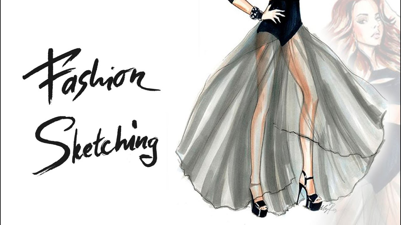 fashion sketches �и��ем ма�ке�ами �ке�� дев��ки в п��ной