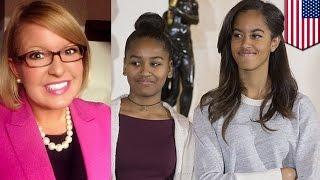 Kobieta komentuje ubiór córek Obamy - traci pracę