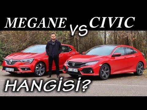 Honda Civic Vs Renault Megane - Hangisi?