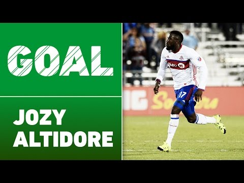 GOAL: Jozy Altidore stuns with the equalizer